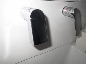 TOTOサクアの水栓部分の画像
