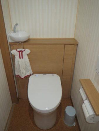 我が家のトイレのTOTOレストパルの画像