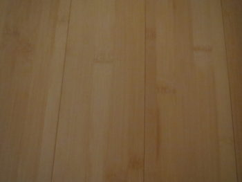 我が家の竹の床材の画像