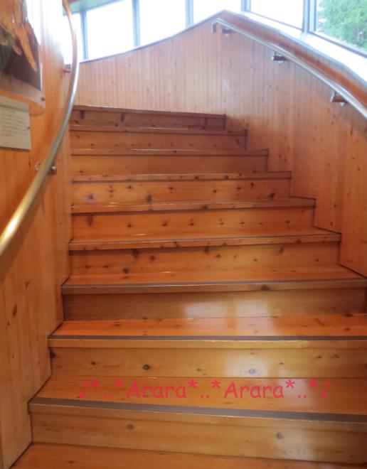 「星の塔」らせん階段