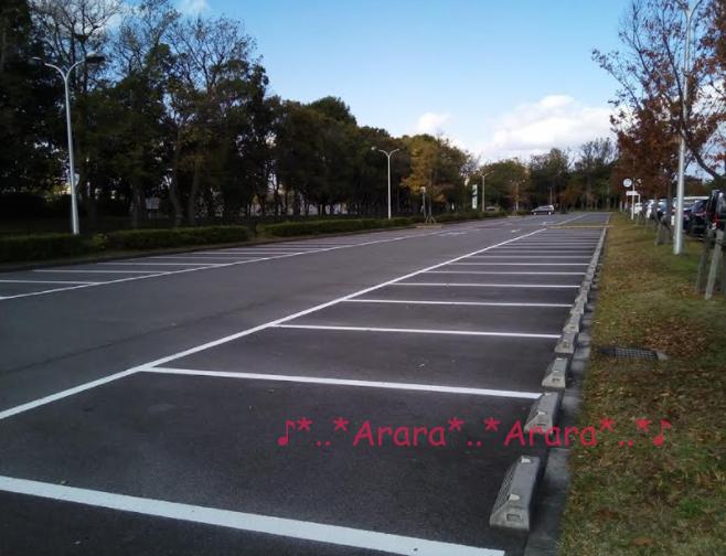 11時半くらいの第一駐車場