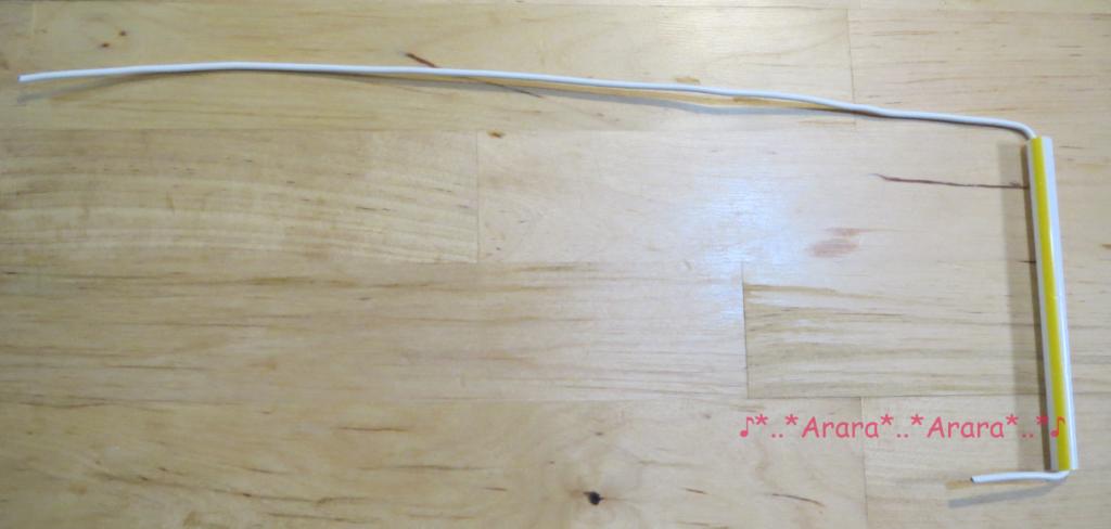 実験③の針金の道具画像