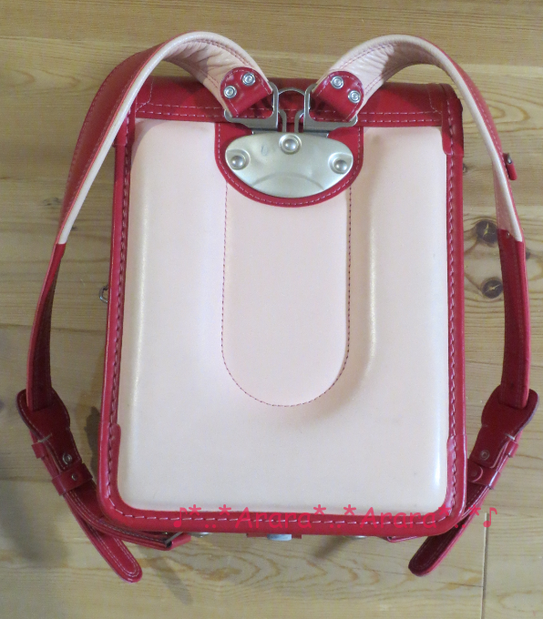 中村鞄のランドセル背面の画像