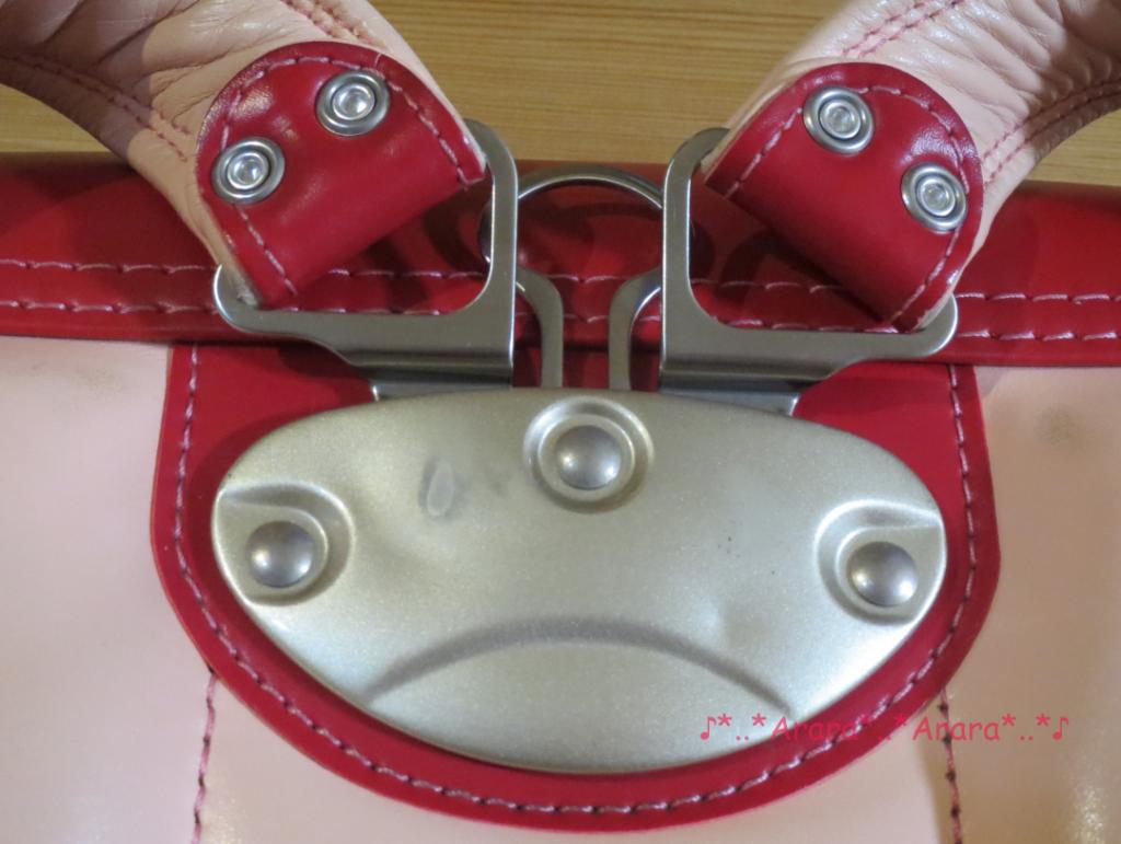 中村鞄のランドセル背カン部分画像