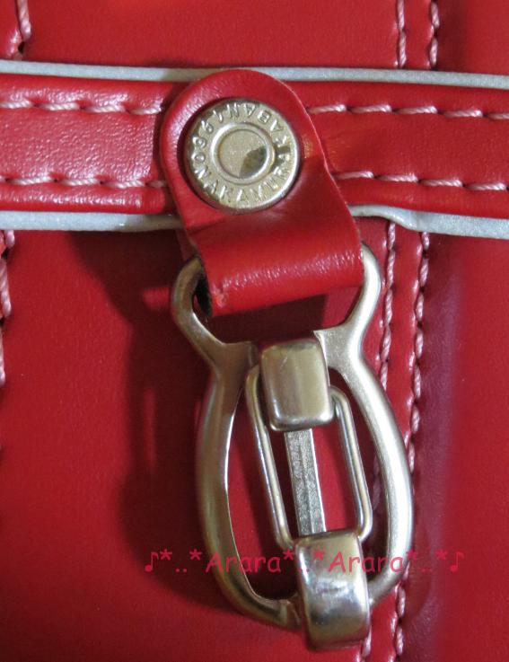 中村鞄のナスカン部分画像