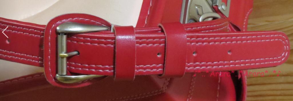 中村鞄のランドセルの肩ベルト「ブラン」画像