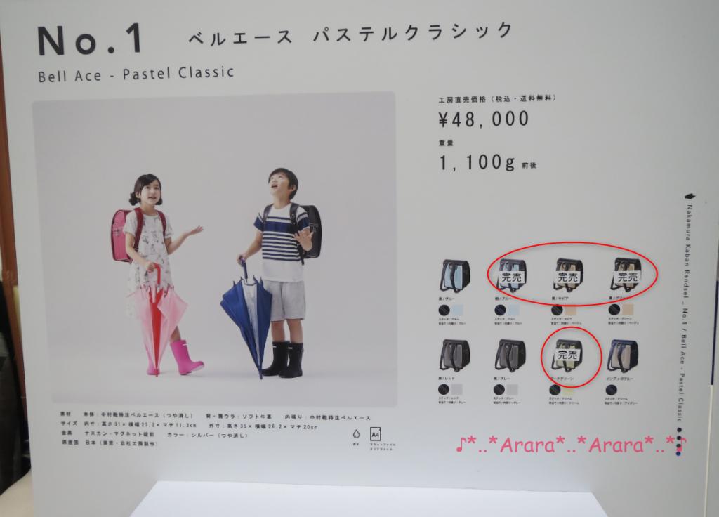 中村鞄展示会パネル画像