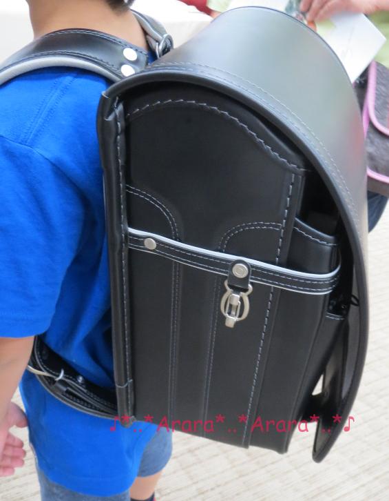 中村鞄ランドセル黒×グレー
