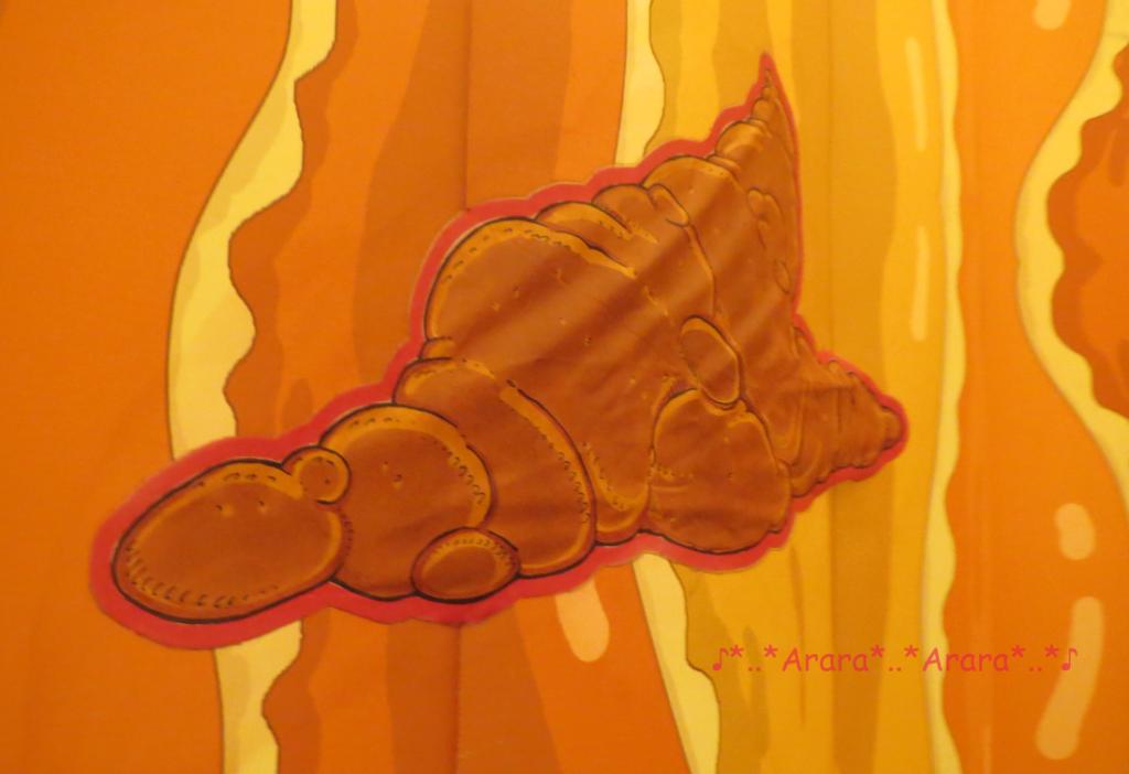 からだのひみつDX 大腸の中のウンチ画像