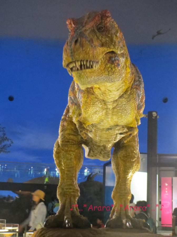 福井県立恐竜博物館 動く恐竜
