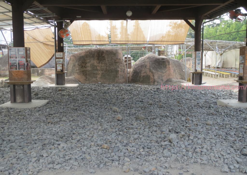 ドキドキ恐竜発掘ランド発掘場所画像