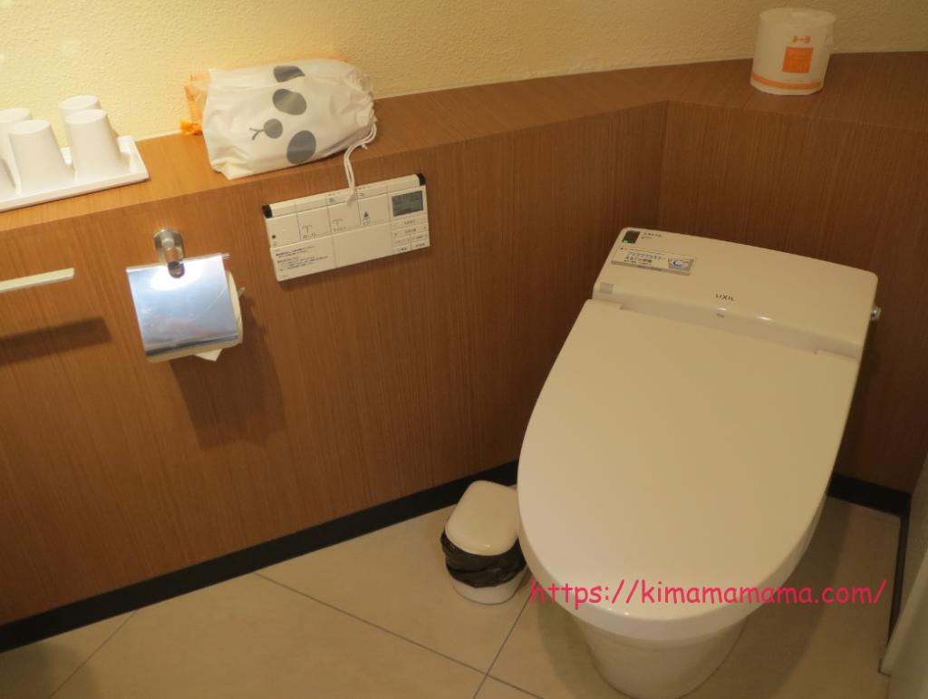 パンダヴィレッジのトイレ画像
