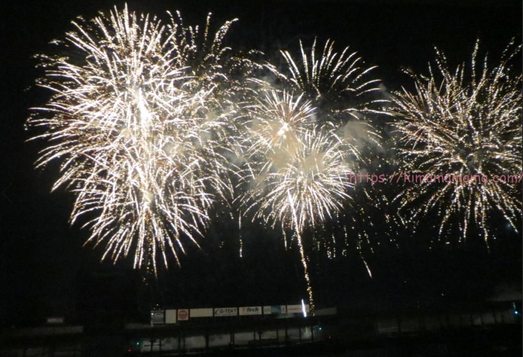 鈴鹿サーキットの花火大会画像