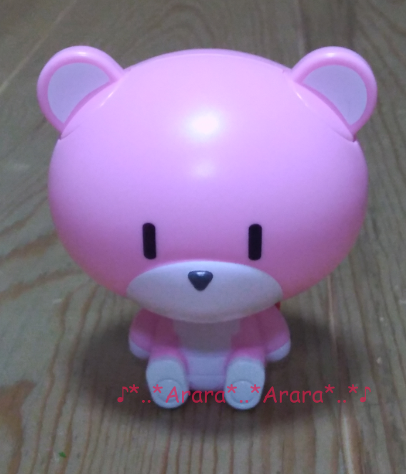 ピンクのクマのカプキャラ画像