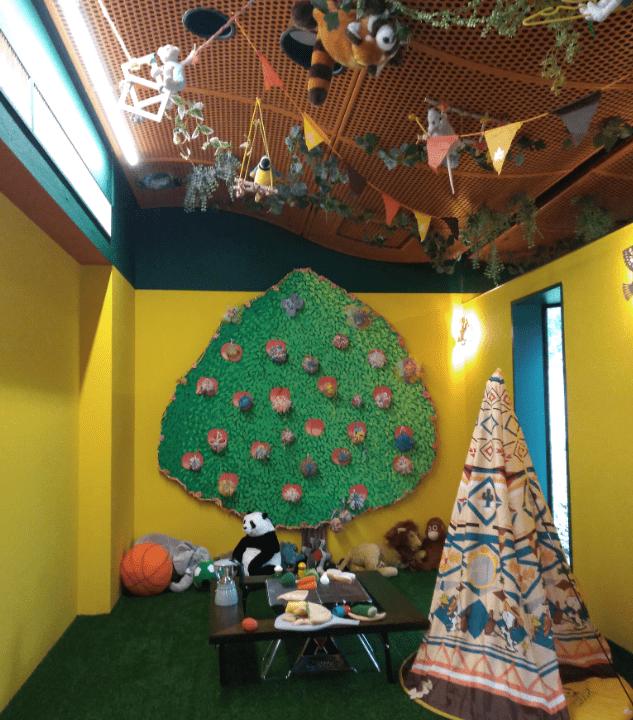 ロゴスカフェのキッズスペース